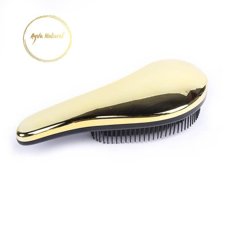 Ayvas Detangling Brush Gold