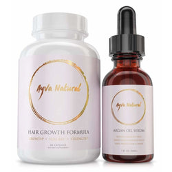 Hair Growth Formula & Argan Oil Set Hair