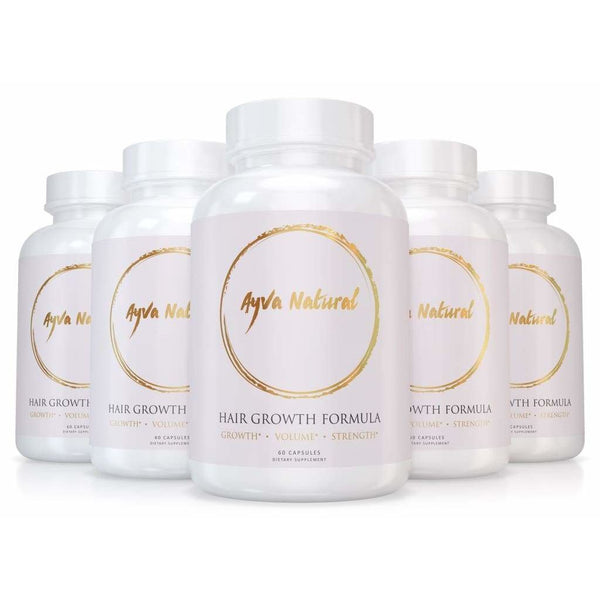 Hair Growth Vitamins - 6 Months Supply 50% Off Limited Time Hair