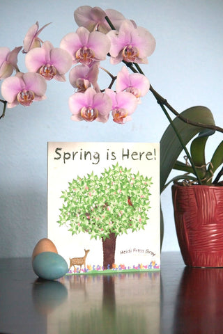 Spring is Here Autographed Book