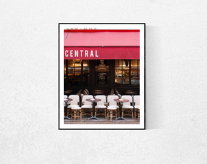 Café Central on Rue Cler - Every Day Paris
