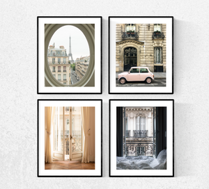 Best Selling Paris Photography Set of Four Prints - Every Day Paris