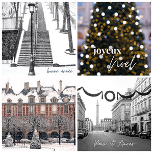 Holiday Paris Notecard Mixed Set