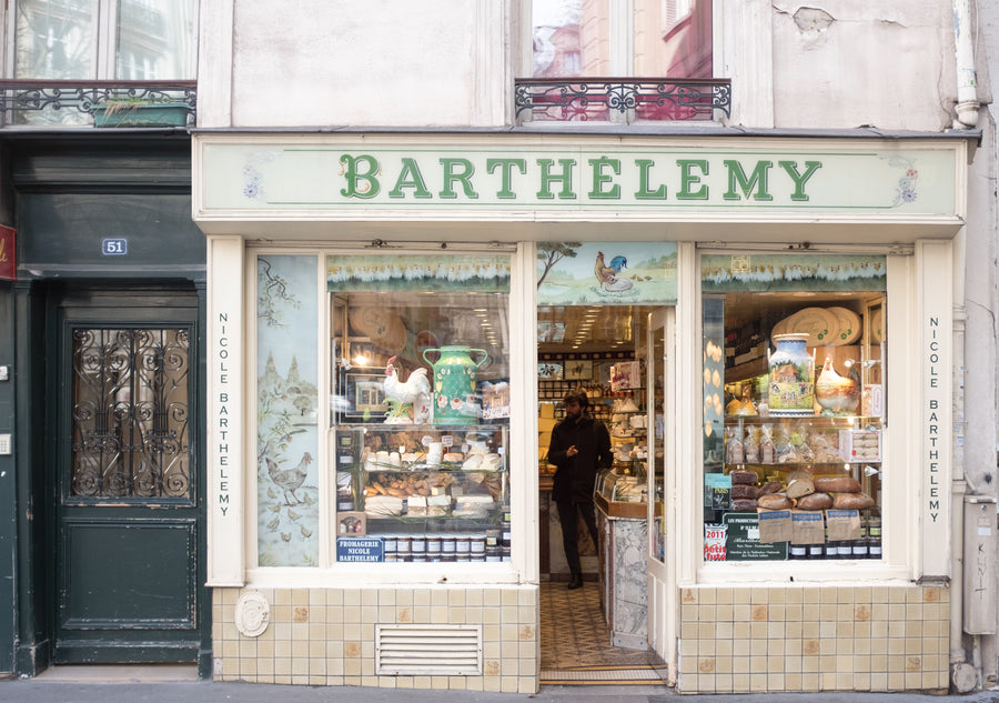 Barthélémy Paris Cheese Shop - Every Day Paris
