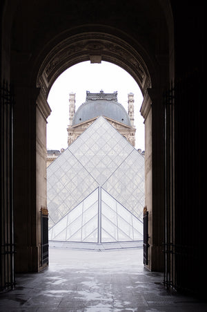 Louvre Paris Pyramid View - Every Day Paris