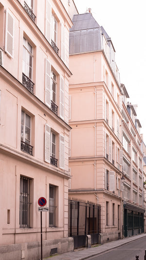 Pink Buildings on the Streets of Paris - Every Day Paris