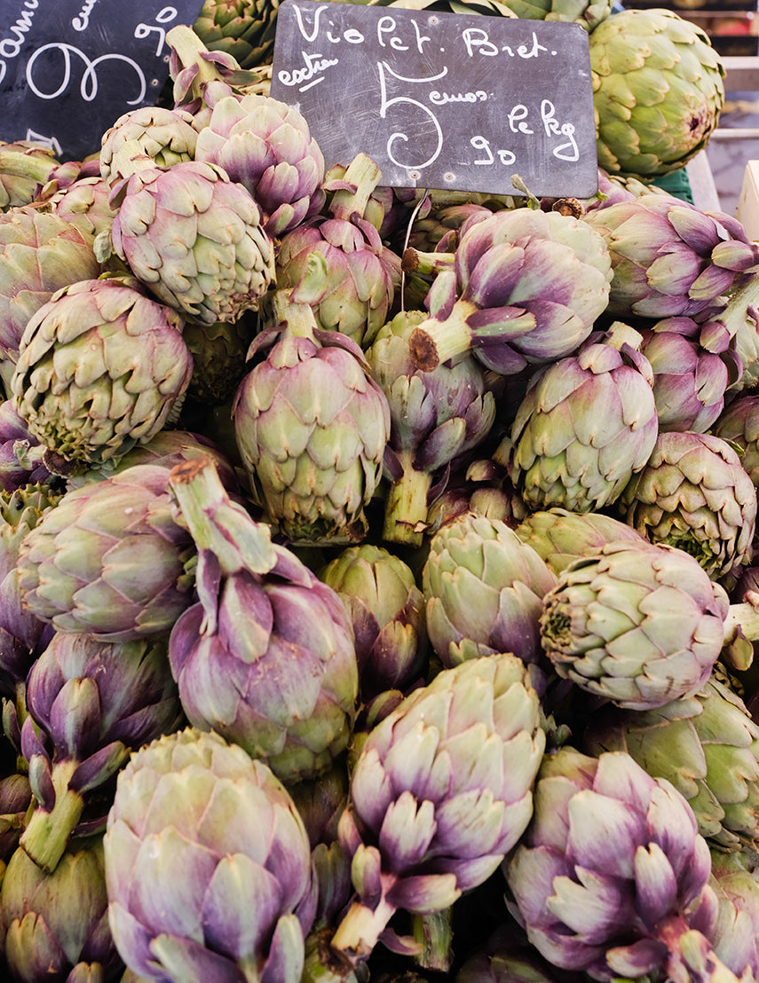Artichokes for Sale at the Market in Nice France - Every Day Paris