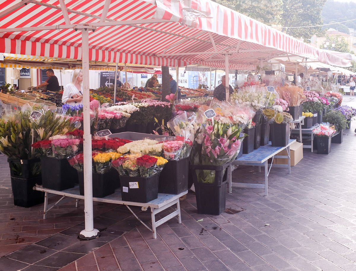 Summer Market in Nice France - Every Day Paris