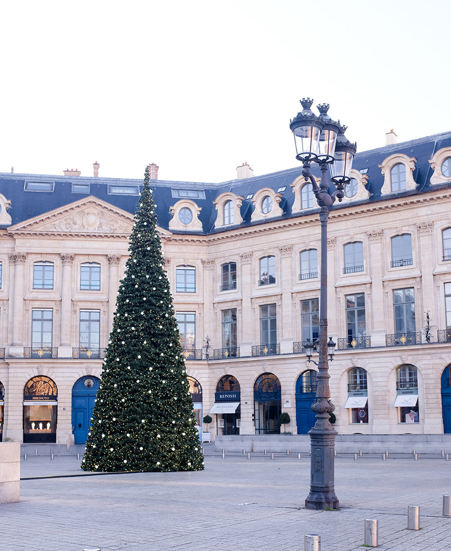 Christmas Trees at Place Vendome - Every Day Paris
