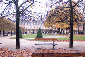 Fall Weekend in Place des Vosges