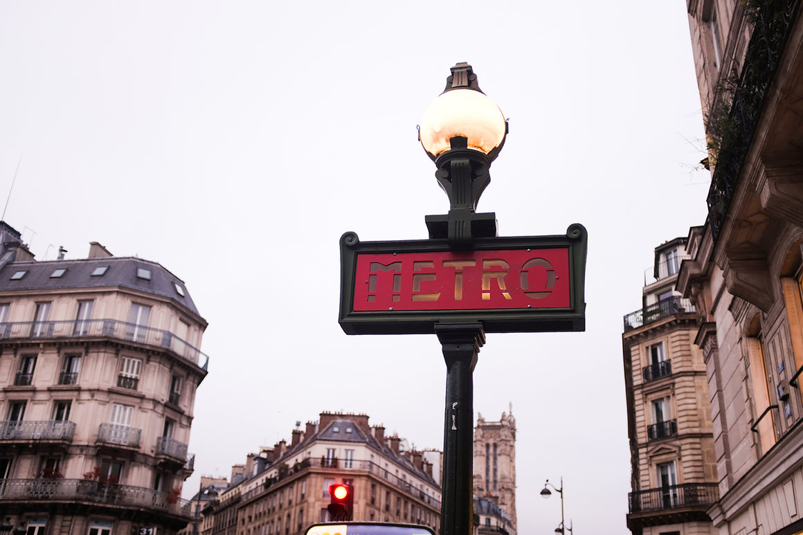 Paris Metro Early Morning