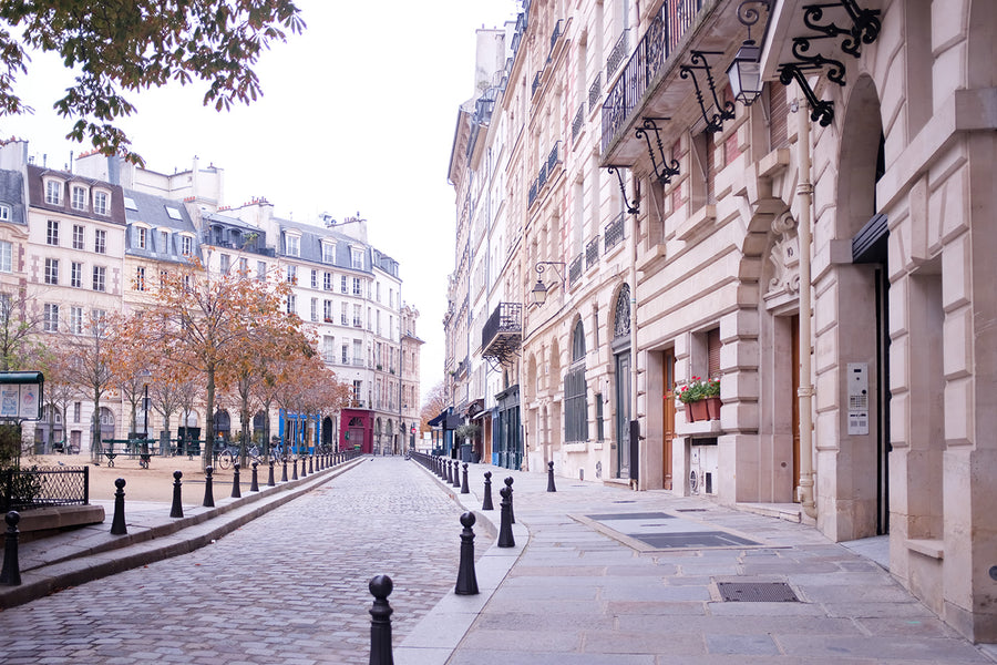 Autumn in Place Dauphine - Every Day Paris