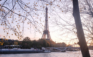 Eiffel Tower Sunset on the Seine - Every Day Paris