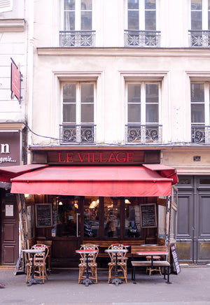 Le Village Café in Montmartre - Every Day Paris