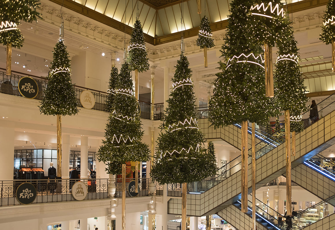 Bon Marché Christmas Trees - Every Day Paris