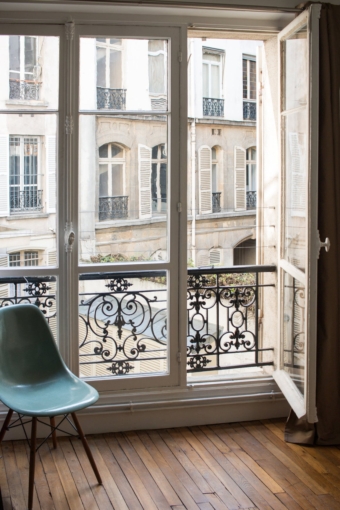 Morning Light in the Paris Apartment - Every Day Paris