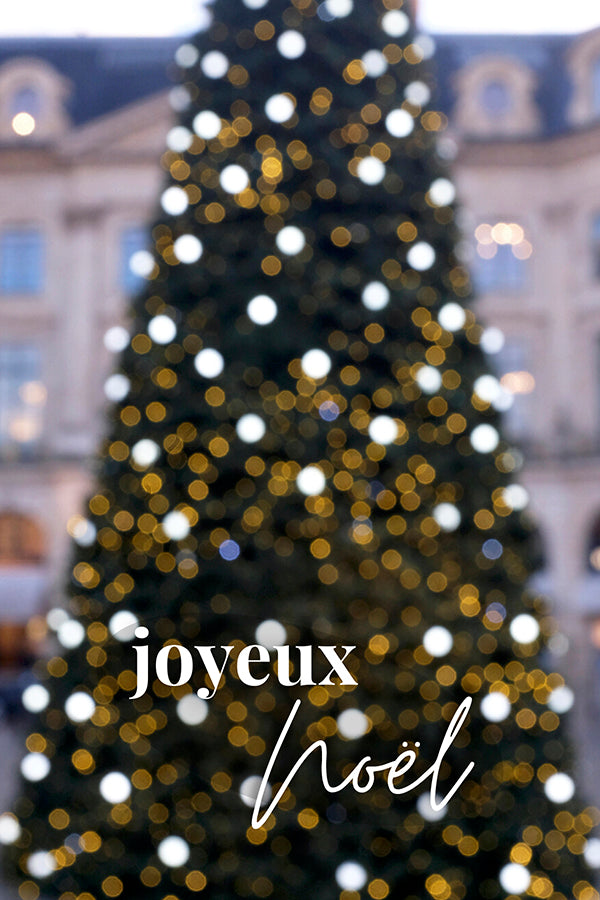 Holiday Paris Notecard Set of 10