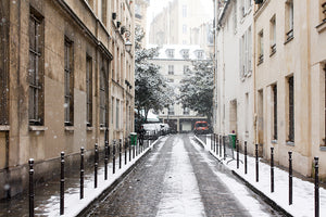 Paris in the Snow Series Three - Every Day Paris