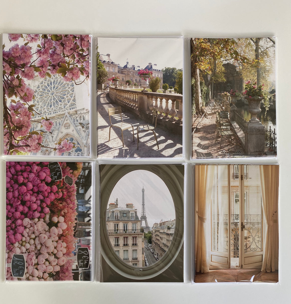 Paris Assorted Notecards Set of 5
