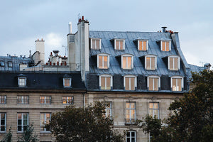 Parisian Windows at Dusk - Every Day Paris