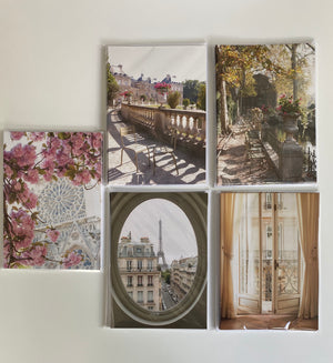 Paris Notecards Set of 5