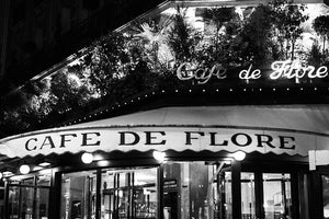 Café de Flore at Night - Every Day Paris