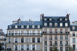 Apartments Along The Seine at Dusk - Every Day Paris
