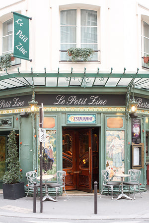 Le petit Zinc Parisian Café - Every Day Paris