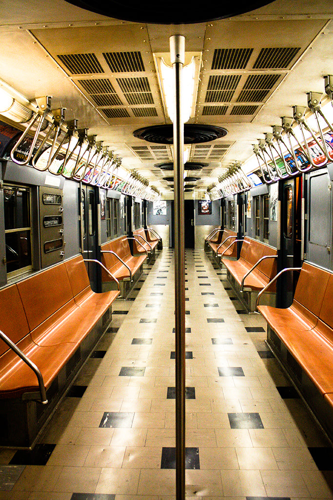 NYC Vintage Subway Train - Every Day Paris