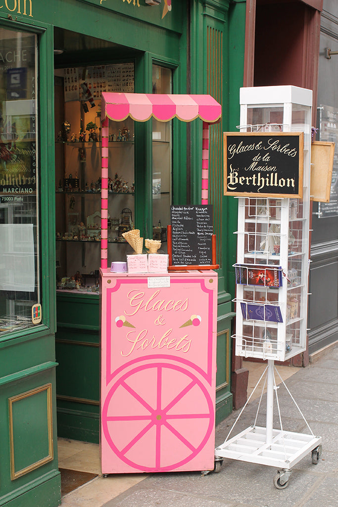 Berthillon Ice Cream on Ile St Louis - Every Day Paris
