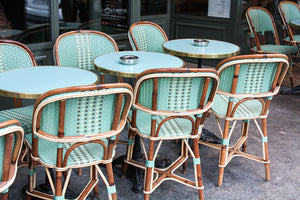 Green Cafe Chairs in Montmartre - Every Day Paris