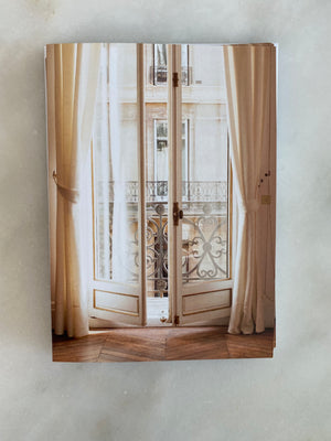 Paris Apartment Notecard