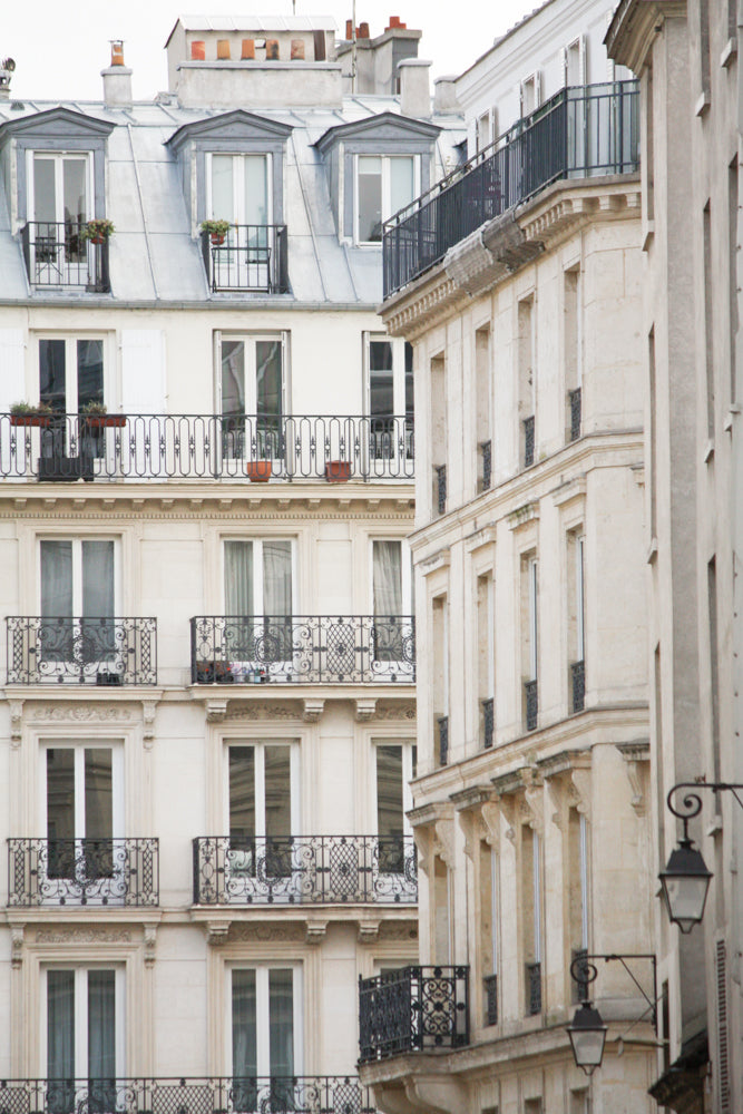 Marais Morning Rooftop View - Every Day Paris