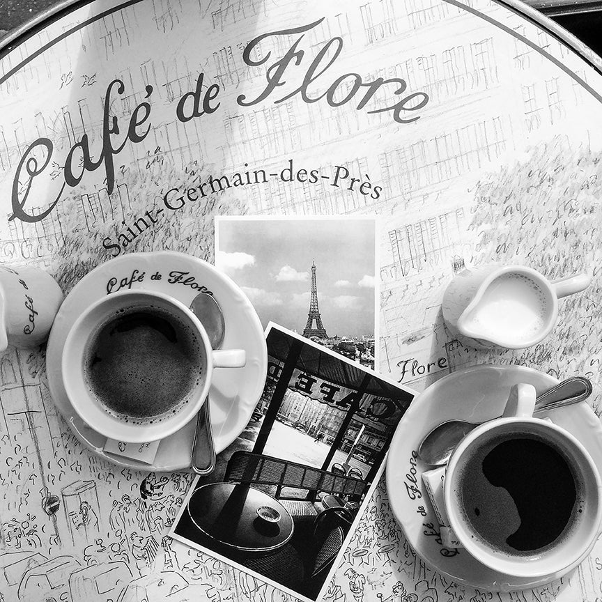 Coffee at Café de Flore - Every Day Paris