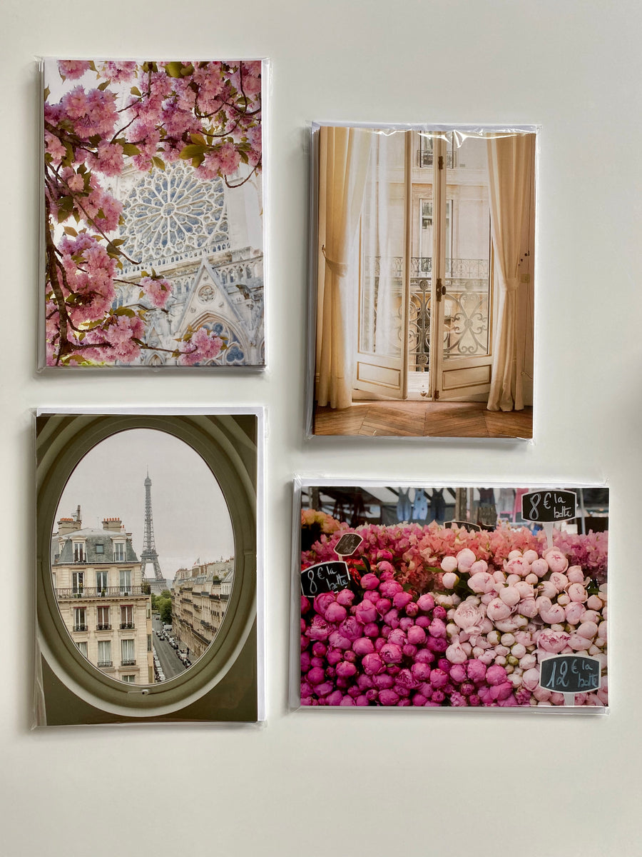 Paris Assorted Notecards Set of 10