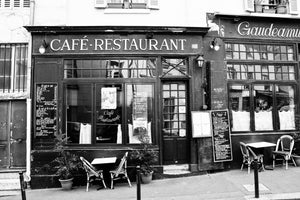 Parisian Café in the Latin Quarter - Every Day Paris
