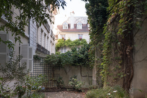 Parisian Courtyard on the Left Bank