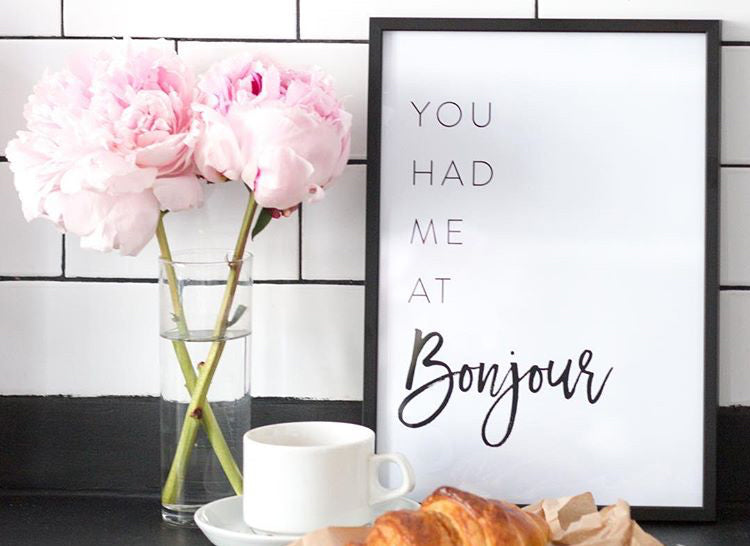 You Had me At Bonjour - Every Day Paris