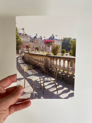 Paris Luxembourg Notecard Set of 5