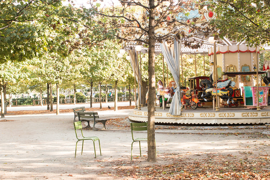 Carousel in The Tuileries - Every Day Paris