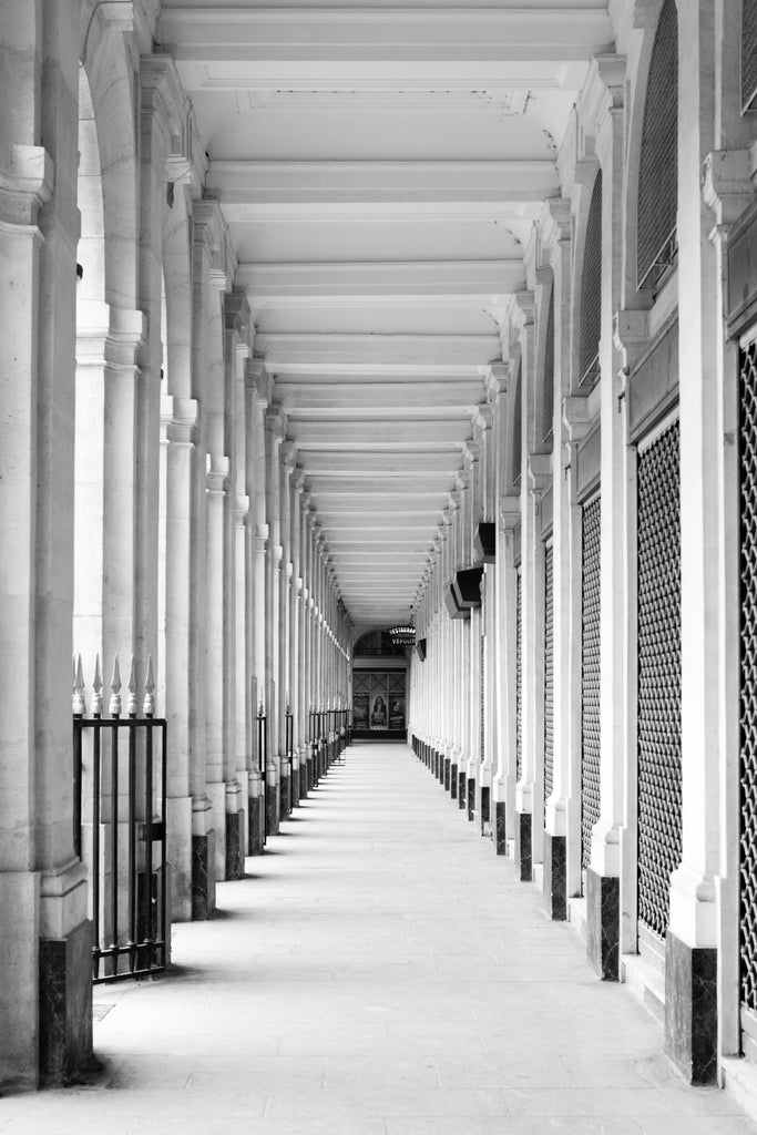 Palais Royal in Black and White - Every Day Paris