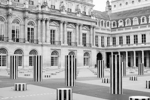Black and White View of Palais Royal - Every Day Paris