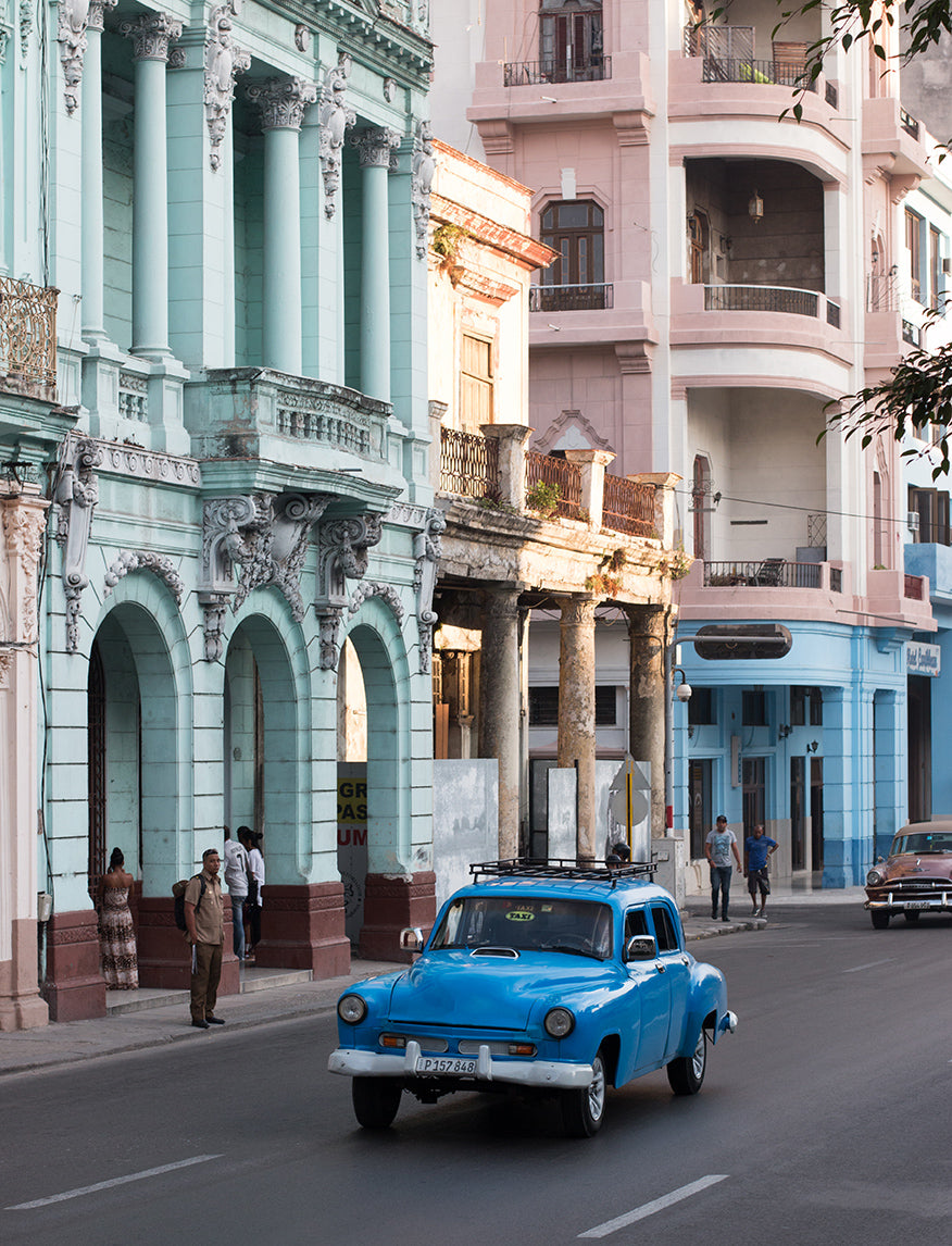 Havana taxi on the Streets of Cuba - Every Day Paris