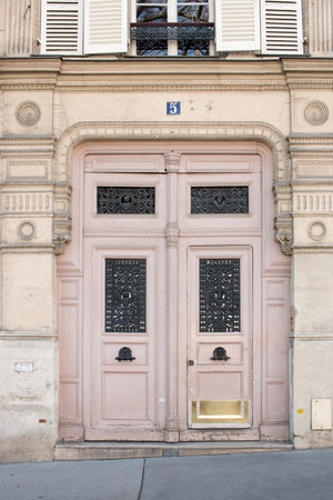 Pink Door in Paris - Every Day Paris