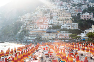 Afternoon Beach Day in Positano