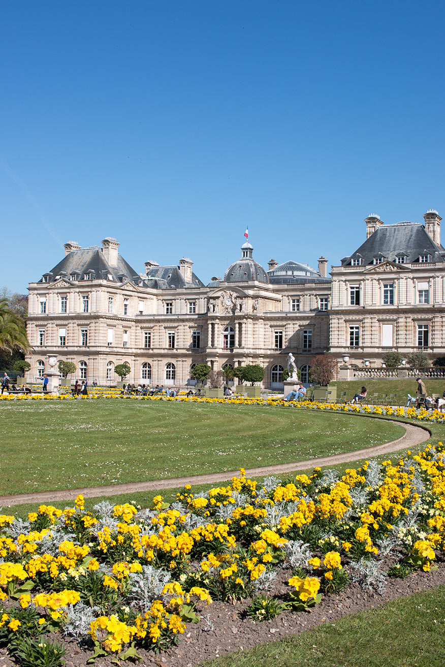 Left Bank Luxembourg Gardens - Every Day Paris