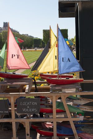 Boats in Luxembourg Gardens - Every Day Paris