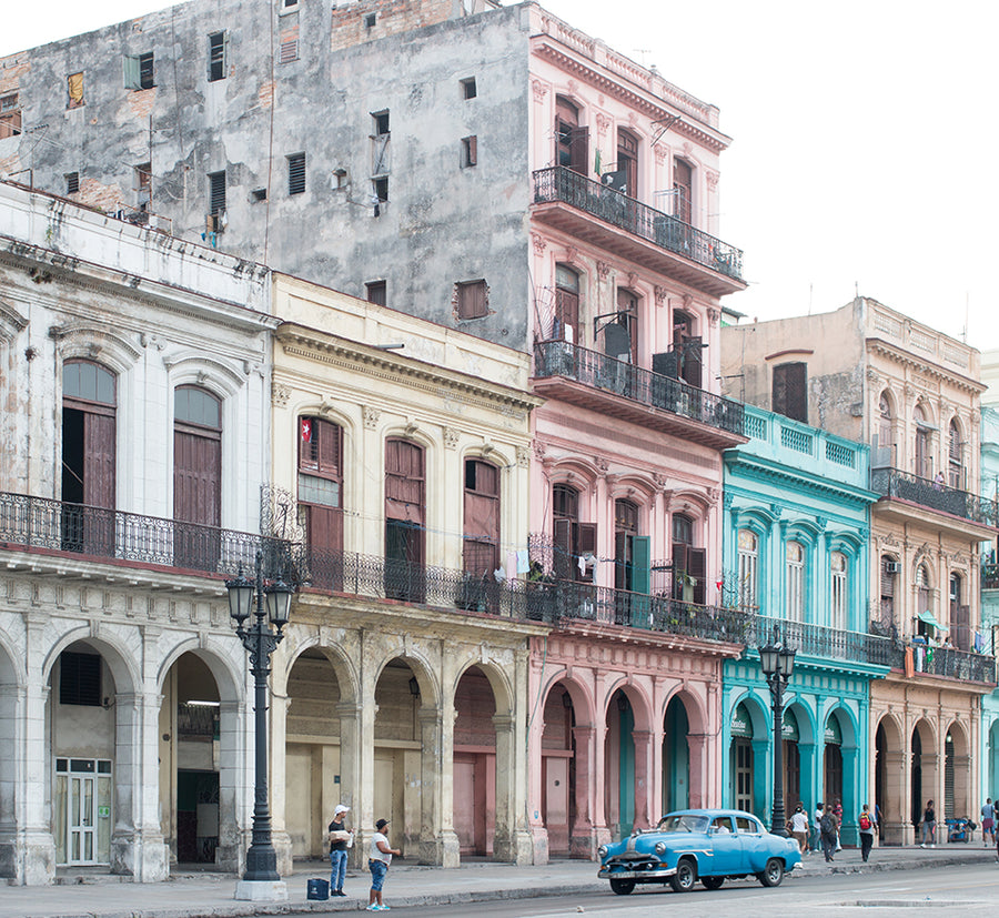 On the Streets of Havana Cuba