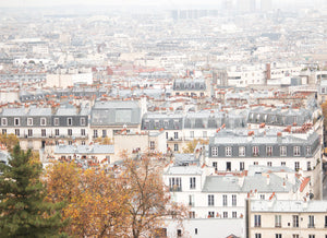 Rainy Montmartre Rooftops in the Fall - Every Day Paris