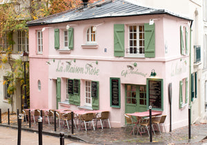 La Maison Rose Montmartre in the Fall - Every Day Paris